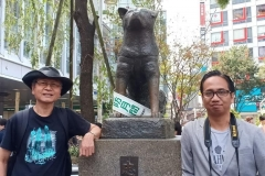 Prof Kardono dan Joko Widodo, dua dari sekian pendiri LSP TLIP saat  bertemu di Tokyo